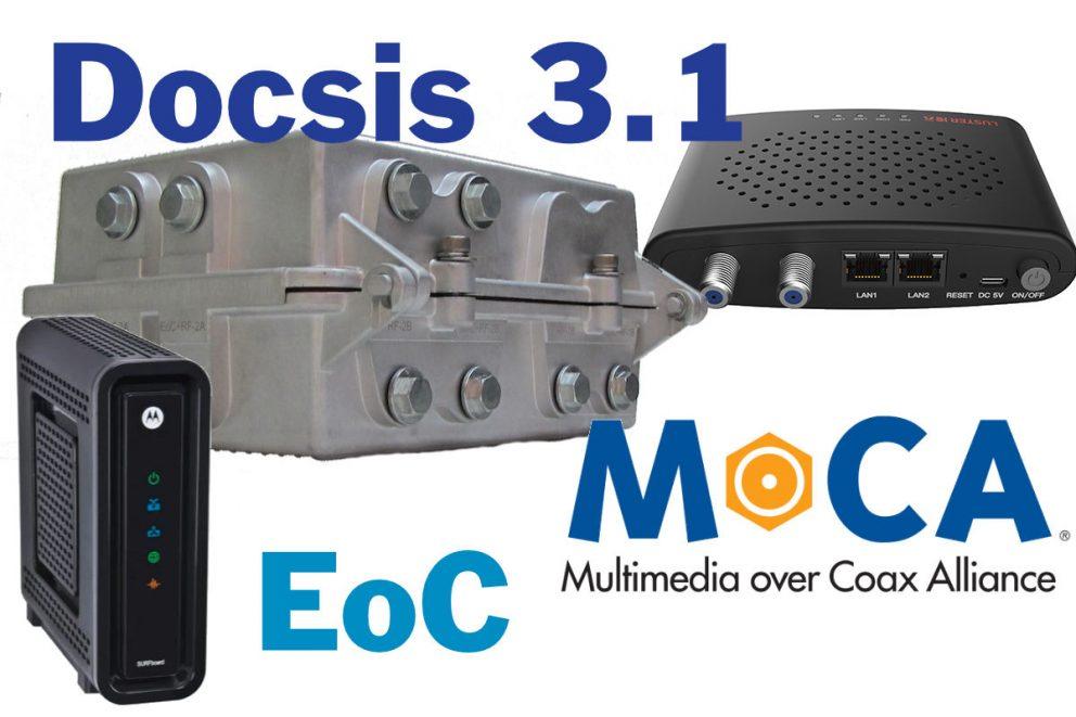 Blog over EOC, Docsis en Moca